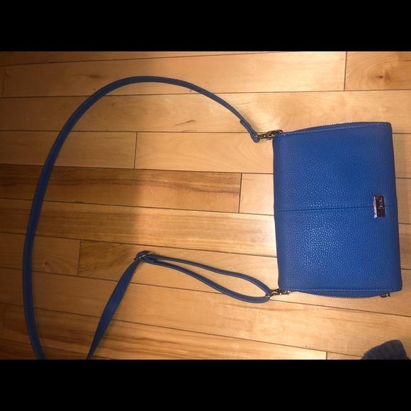 Handbags - Jewel By Thirty One Convertible Crossbody Blue.
